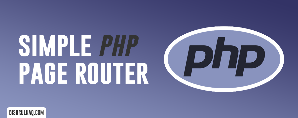 Simple PHP Page Router
