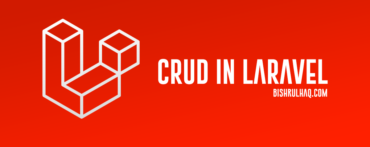 CRUD in Laravel