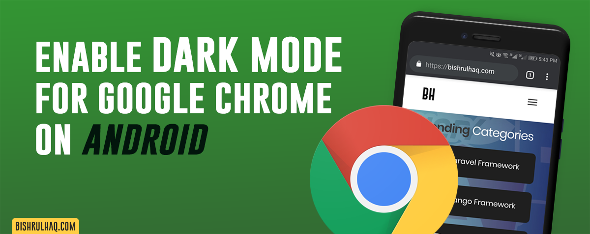 Enable Dark Mode for Chrome