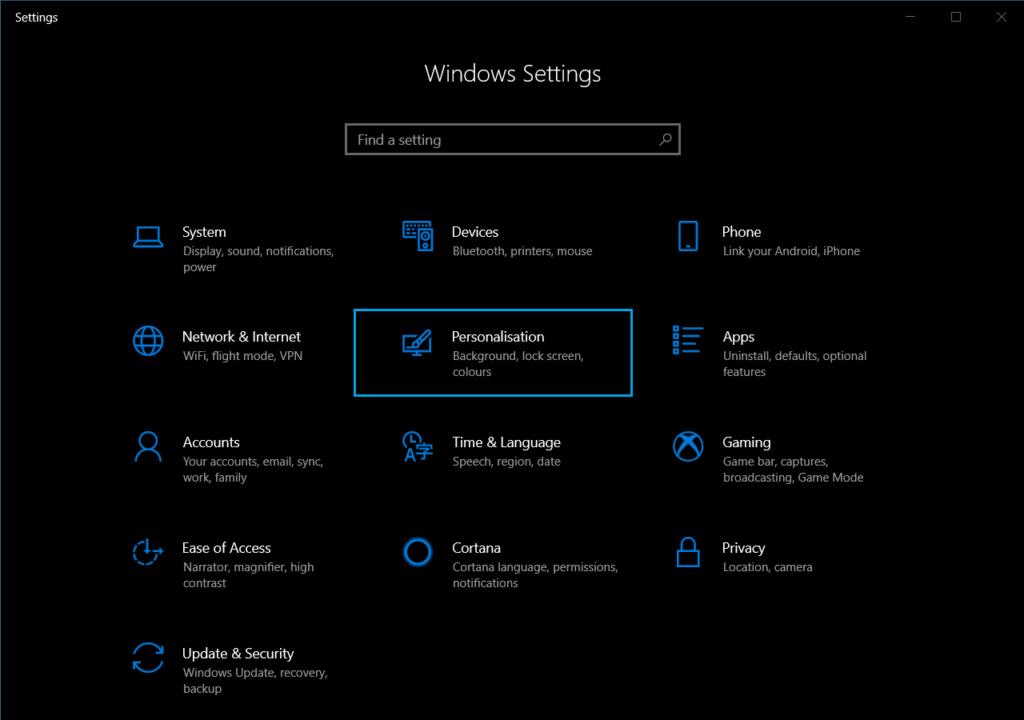 Dark Mode Windows Step 2