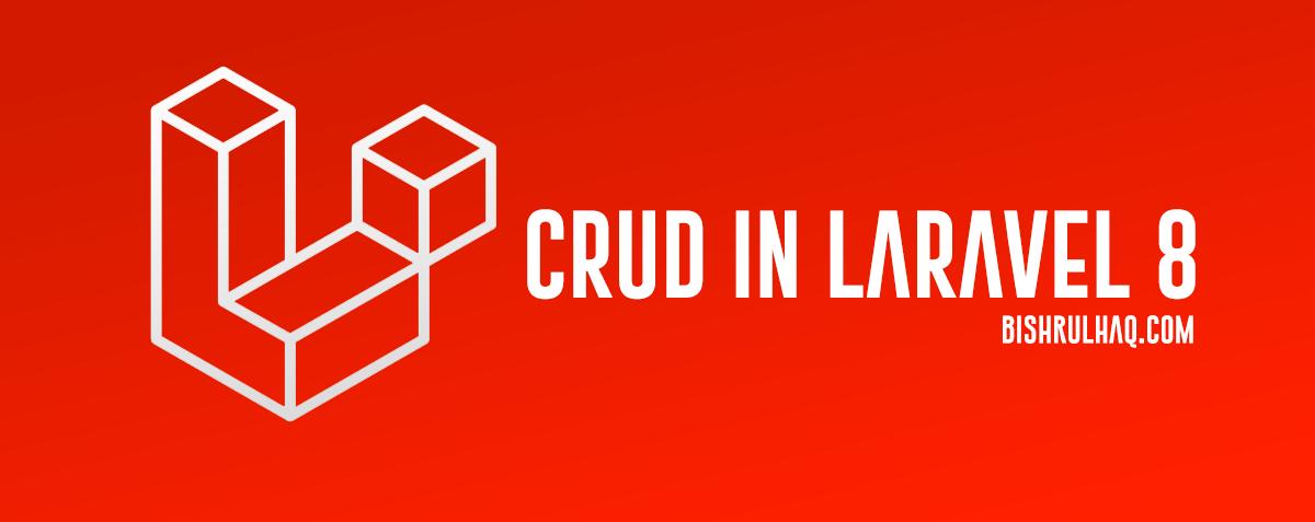 Laravel 8 CRUD